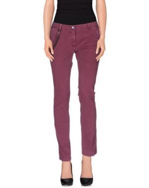 Повседневные брюки MODFITTERS. Цвет: пурпурный
