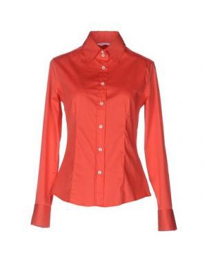 Pубашка GUGLIELMINOTTI. Цвет: коралловый