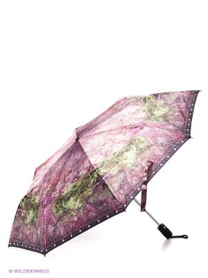Зонт Eleganzza. Цвет: сиреневый, зеленый