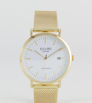 Reclaimed Vintage Часы Inspired эксклюзивно для ASOS. Цвет: золотой
