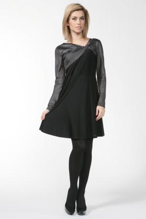 Платье Roccobarocco. Цвет: черный