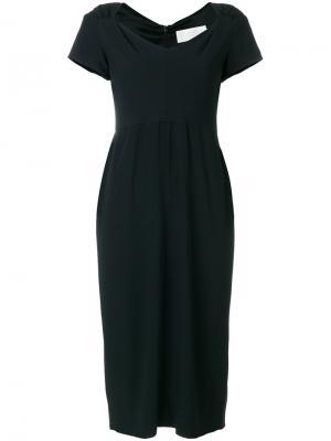 Платье-футляр Fonteyn Goat. Цвет: чёрный