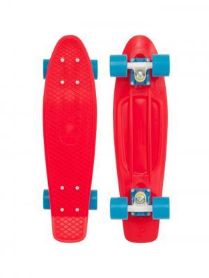 Комплект лонгборд ORIGINAL 22 (SS) PENNY. Цвет: голубой, красный