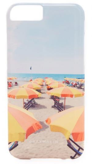 Чехол Rivabella Umbrellas для iPhone 6/6s Gray Malin