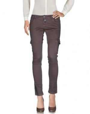 Повседневные брюки SHOCKLY. Цвет: хаки