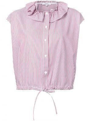 Ruffle collar blouse Atlantique Ascoli. Цвет: красный