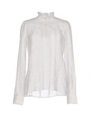 Блузка NOLITA. Цвет: белый