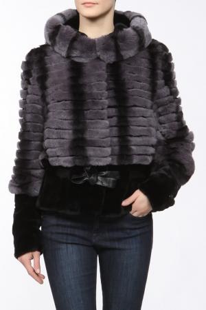 Куртка TERSE. Цвет: серый