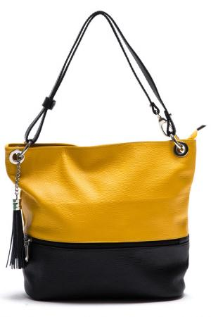 Сумка ANNA LUCHINI. Цвет: yellow, black