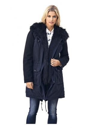 Куртка-парка B.C. BEST CONNECTIONS. Цвет: темно-синий