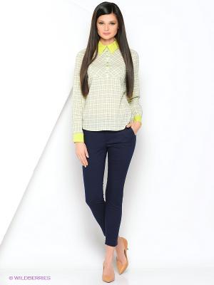 Блузка Ksenia Knyazeva. Цвет: салатовый