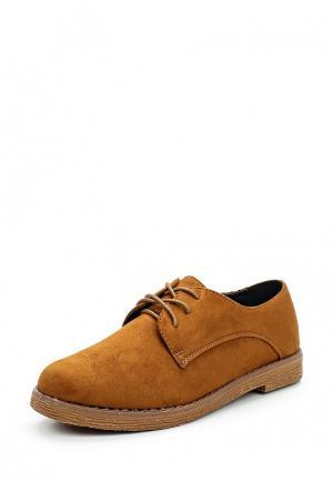 Ботинки Catisa. Цвет: коричневый
