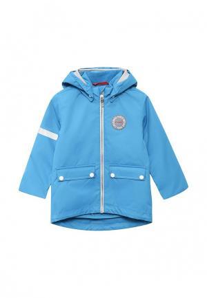 Куртка утепленная Reima. Цвет: голубой