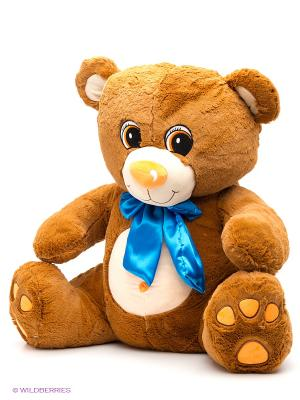 Мишка Тоша 70см. Fluffy Family. Цвет: коричневый