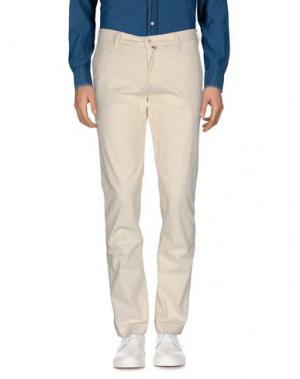 Повседневные брюки JAGGY. Цвет: слоновая кость