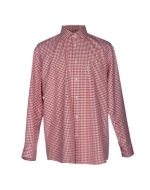 Pубашка FAÇONNABLE. Цвет: красный
