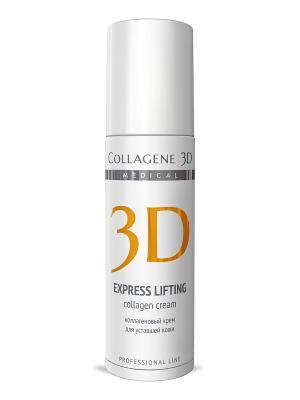 Крем-эксперт ПРОФ Express Lifting 150 мл Medical Collagene 3D. Цвет: белый, оранжевый