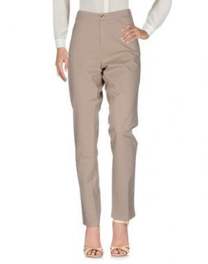 Повседневные брюки DEVERNOIS. Цвет: бежевый