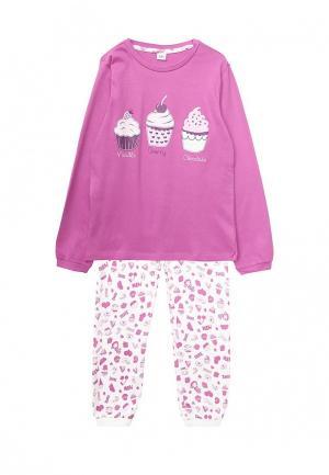 Пижама Blukids. Цвет: розовый