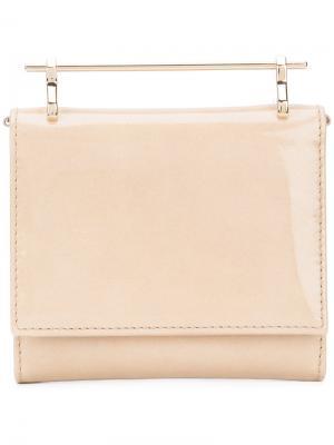 Top handle wallet M2malletier. Цвет: телесный