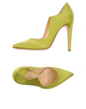 Туфли CHARLINE DE LUCA. Цвет: кислотно-зеленый