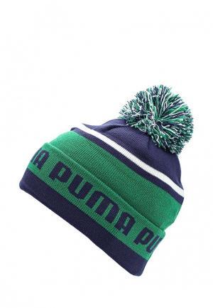 Шапка Puma. Цвет: зеленый