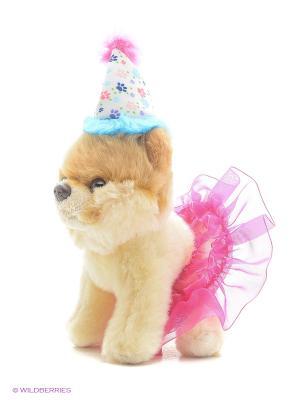 Игрушка мягкая (Itty Bitty Boo Birthday Tutu, 12,5 см). Gund. Цвет: бежевый, розовый