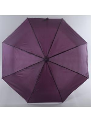 Зонт Torm, Женский, 3 сложения, Автомат,  Полиэстер Torm. Цвет: сливовый