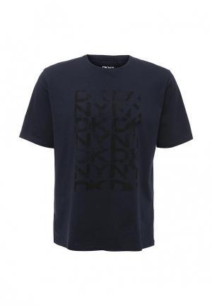 Футболка DKNY. Цвет: синий