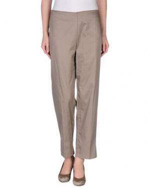 Повседневные брюки FUTURA. Цвет: хаки