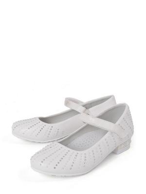 Туфли TOM&MIKI. Цвет: белый
