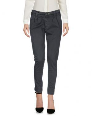Повседневные брюки SHOCKLY. Цвет: свинцово-серый