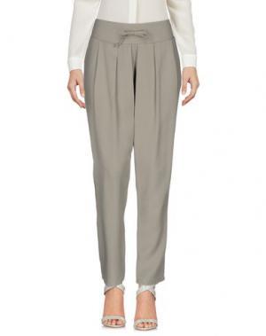 Повседневные брюки MIVITE. Цвет: серый