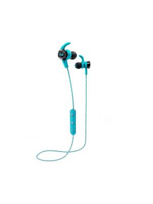 Наушники с микрофоном Monster iSport Victory In-Ear Wireless (Blue). Цвет: синий