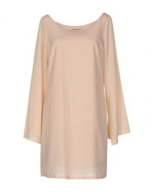 Короткое платье NELL&ME. Цвет: светло-розовый