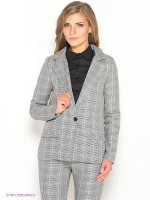Пиджак Ada Gatti. Цвет: черный, молочный