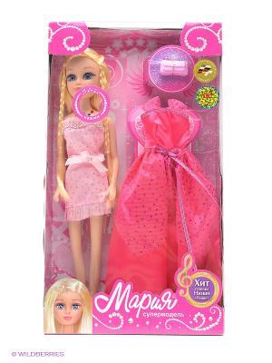 Кукла  Мария Карапуз. Цвет: розовый