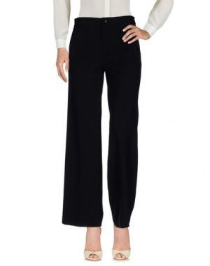 Повседневные брюки MOUCHE. Цвет: черный
