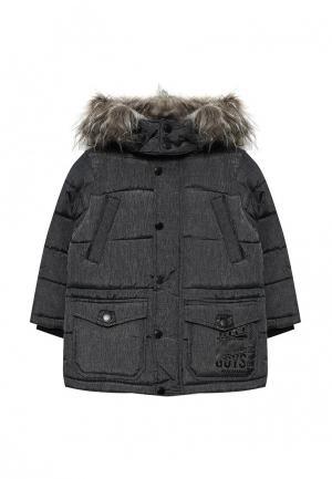 Куртка утепленная Acoola. Цвет: серый