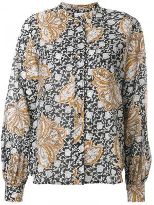 Floral bell sleeve blouse A.L.C.. Цвет: многоцветный