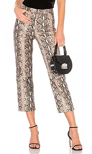 Зауженные брюки pant 297 LPA. Цвет: мульти
