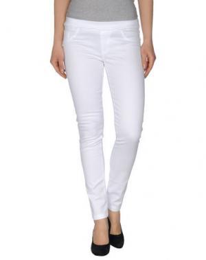 Повседневные брюки VIRTUS PALESTRE. Цвет: белый