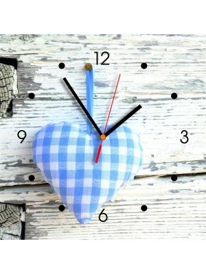 Настенные часы Contento. Цвет: черный,серый,голубой
