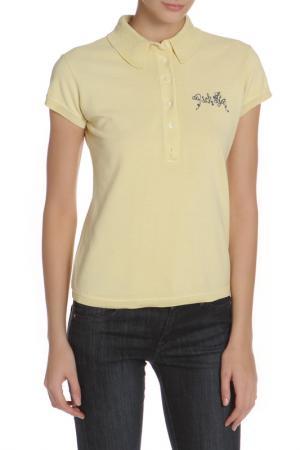 Рубашка-поло John Richmond. Цвет: 0111, w желтый
