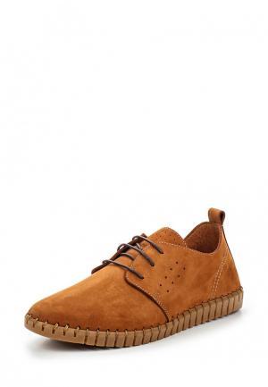 Туфли Darkwood. Цвет: коричневый