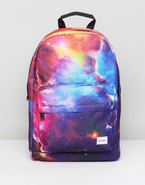 Spiral Рюкзак с галактическим принтом. Цвет: мульти