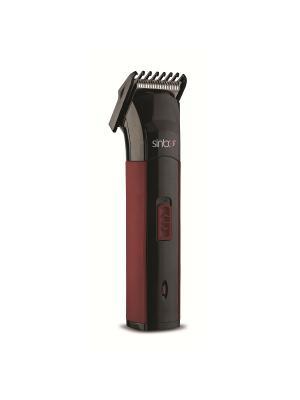 Машинка для стрижки Sinbo SHC 4365 черный/красный (насадок в компл:1шт). Цвет: черный
