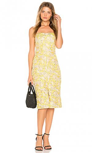 Платье gretta BB Dakota. Цвет: желтый