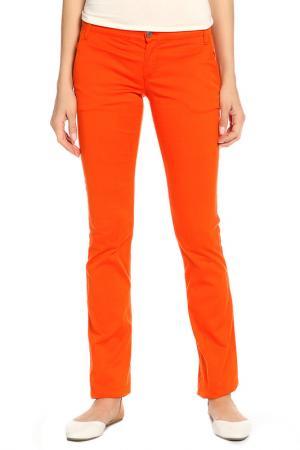 Брюки Richmond. Цвет: оранжевый, черный
