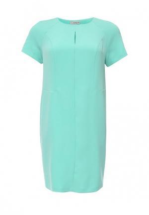 Платье Intikoma. Цвет: бирюзовый
